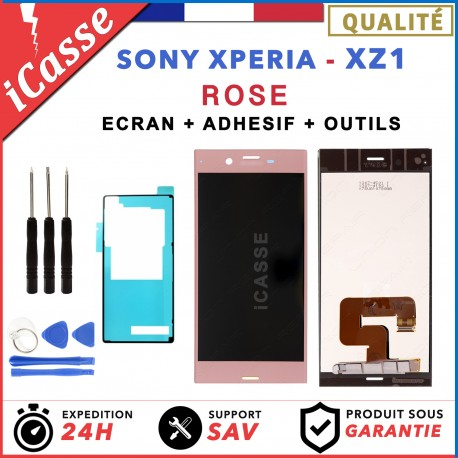 D'origine Ecran LCD Sony Xperia XZ1 G8341, G8342, G8343 ROSE + ADHESIVE + OUTILS