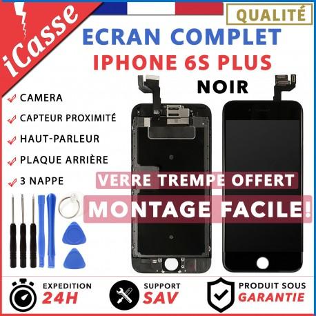 VITRE TACTILE + ECRAN LCD COMPLET IPHONE 6S PLUS NOIR + OUTILS