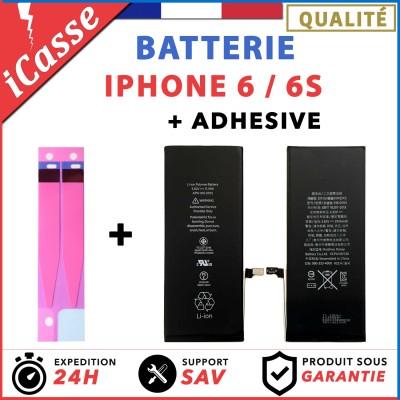 Batterie + Adhésif pour iPhone 6 / 6S Interne Neuve 0 Cycle