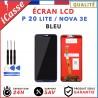 ECRAN LCD + VITRE TACTILE POUR HUAWEI P20 LITE / NOVA 3E - BLEU