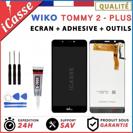 ECRAN LCD + VITRE TACTILE pour WIKO TOMMY 2 PLUS + outils