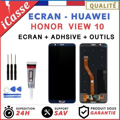 ECRAN LCD POUR HUAWEI HONOR VIEW 10 NOIR + OUTILS + ADHESIVE