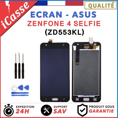 Ecran complet pour Asus Zenfone 4 Selfie ZD553KL X00LD / NOIR OU BLANC + OUTILS