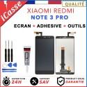 ECRAN LCD VITRE TACTILE POUR XIAOMI REDMI NOTE 3 PRO NOIR / BLANC / OR + COLLE