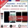 ECRAN HUAWEI P10 LITE VITRE TACTILE + ECRAN LCD NOIR BLANC BLEU OU OR + COLLE