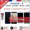 ECRAN HUAWEI HONOR 8 VITRE TACTILE + ECRAN LCD NOIR BLANC BLEU OU OR + COLLE