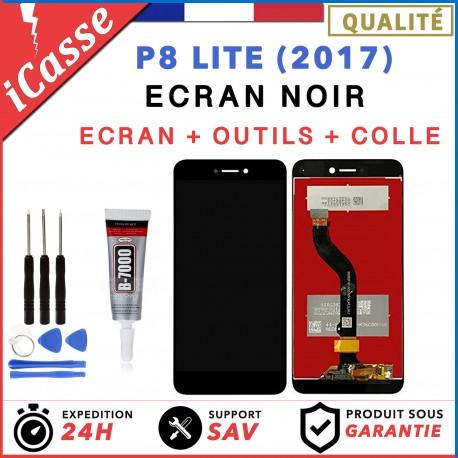 ECRAN COMPLET POUR HUAWEI P8 LITE 2017 VITRE TACTILE + ECRAN LCD NOIR