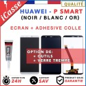 Ecran Huawei P Smart PSmart FIG-LX1 tactile + LCD BLANC NOIR OR + COLLE