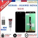 VITRE TACTILE + ECRAN LCD POUR HUAWEI NOVA NOIR CAN-L01 + OUTILS + COLLE