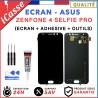 ECRAN LCD + VITRE TACTILE Asus Zenfone 4 Selfie Pro ZD552KL NOIR OU BLANC OUTILS