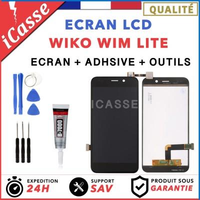 ECRAN VITRE TACTILE + LCD Assemblé ORIGINAL WIKO WIM LITE + outils