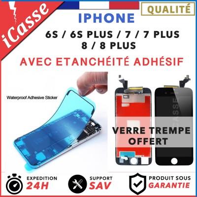 ECRAN LCD VITRE TACTILE IPHONE 6S / 6S PLUS 7 / 7 PLUS 8 / 8 PLUS + Etanchéité