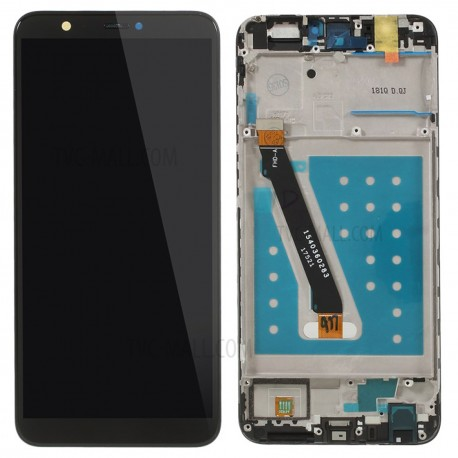 ECRAN + CHASSIS pour HUAWEI P SMART NOIR / BLANC / OR (FIG-LX1) + OUTILS + COLLE