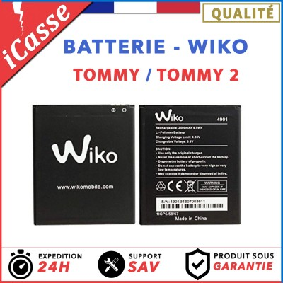 Batterie Wiko Tommy / Wiko Tommy 2 / AAA