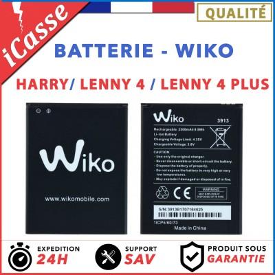 AAA Batterie Wiko 3913 Lenny 4 / Lenny 4 Plus / Harry 2500 mAh