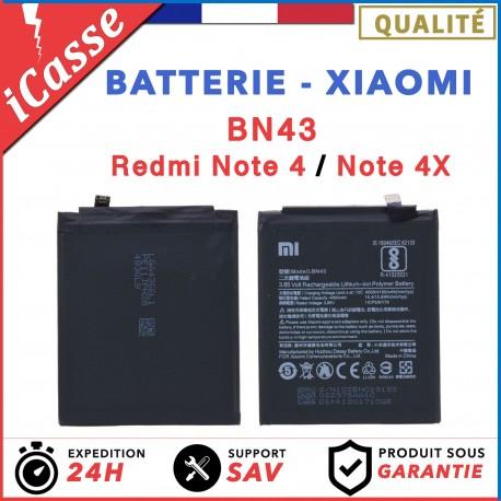 Batterie Xiaomi BN43 - Redmi Note 4 / Note 4X - 4000 mAh - AAA
