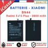 Batterie Xiaomi BN44 - Redmi 5 / 5 Plus - 3900 mAh - 3.85V - AAA