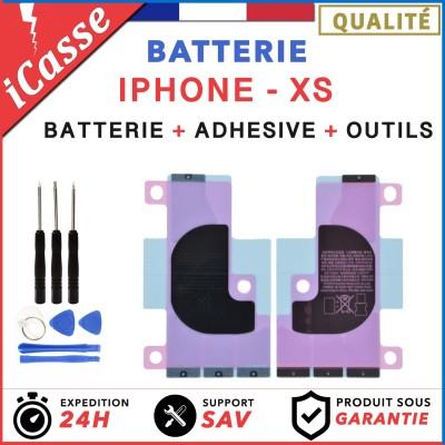 Batterie iPhone XS interne 0 cycle Haute Qualité + Adhésif batterie + Outils