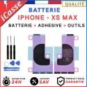Batterie iPhone XS MAX interne 0 cycle Haute Qualité + Adhésif batterie + Outils