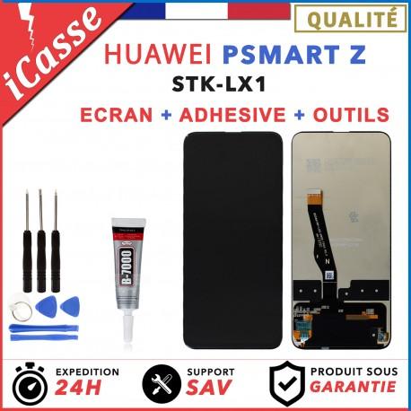 ECRAN LCD + VITRE TACTILE pour HUAWEI PSMART P SMART Z NOIR + COLLE + OUTILS