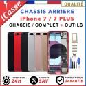 Chassis Complet Coque Arriere iPhone 7 et 7 Plus Or/Argent/Gris/Rouge/Noir/Mat