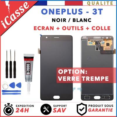 ECRAN LCD RETINA ASSEMBLÉ VITRE TACTILE POUR OnePlus 3T A3010 A3003 NOIR / BLANC