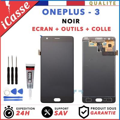 ECRAN LCD RETINA ASSEMBLÉ VITRE TACTILE POUR OnePlus 3 A3000 A3003 NOIR