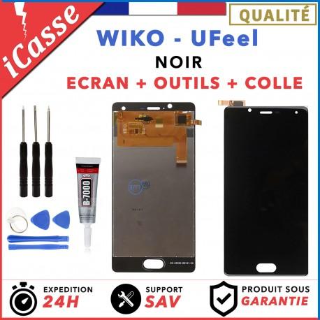LCD + Ecran tactile assemblés Wiko Ufeel U Feel NOIR + Outils
