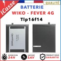 Batterie Wiko Fever 4G model Tlp16f14 - pour Wiko Fever 4G AAA