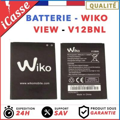 AAA Batterie WIKO VIEW Modele: V12BNL - 2900mAh 11.165Wh - Neuve