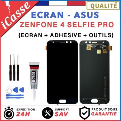ECRAN LCD Asus Zenfone 4 Selfie Pro ZD552KL NOIR + OUTILS + COLLE