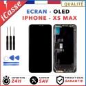 ECRAN OLED POUR IPHONE XS MAX VITRE TACTILE SUR CHASSIS TOUT ASSEMBLE + OUTILS