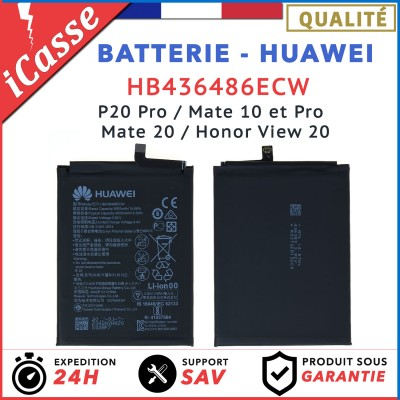 Batterie Huawei P20 Pro / Mate 10 et Pro / Mate 20 / Honor View 20 HB436486ECW