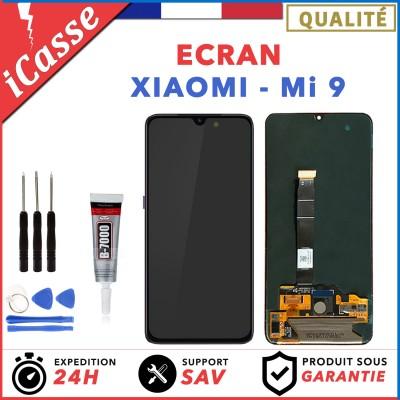 Écran Xiaomi Mi 9 Mi9 + Vitre Tactile Assemblé Noir + Outils + Colle