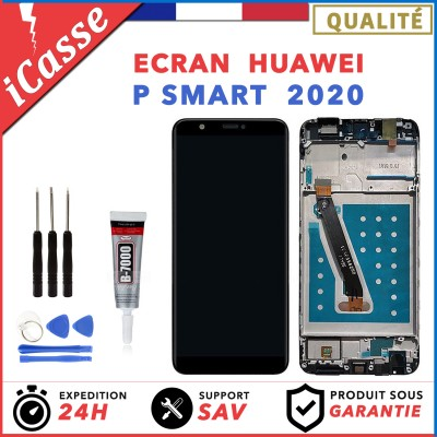 Ecran Complet Avec Frame Huawei P Smart 2020 POT-LX1A POT-L21A POT-LX3 + COLLE