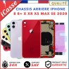 Chassis Arriare iPhone 8 8 PLUS X XS XR XS Max 11 SE 2020 + ADHESIF + LOGO CE