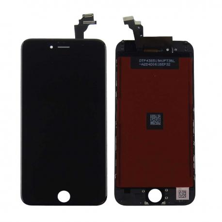 ECRAN LCD RETINA VITRE TACTILE SUR CHASSIS POUR IPHONE 6 / 6 PLUS - NOIR / BLANC