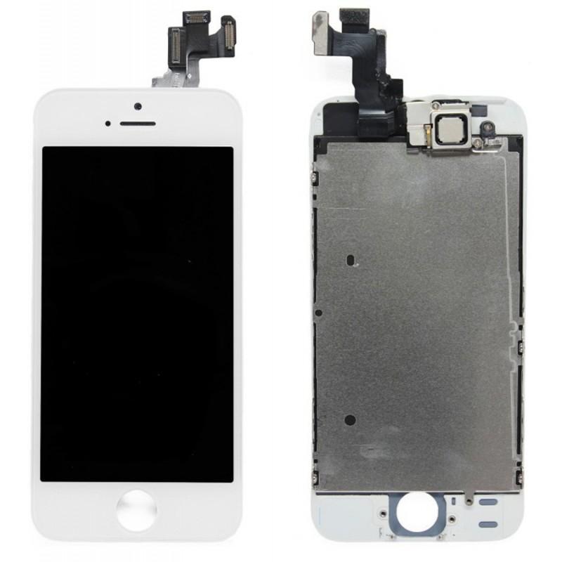 aaa ecran complet iphone 5 5c 5s se vitre tactile. Black Bedroom Furniture Sets. Home Design Ideas