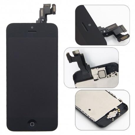 ECRAN COMPLET IPHONE 5 / 5C / 5S / SE VITRE TACTILE + LCD BLOC COMPLET ASSEMBLÉ