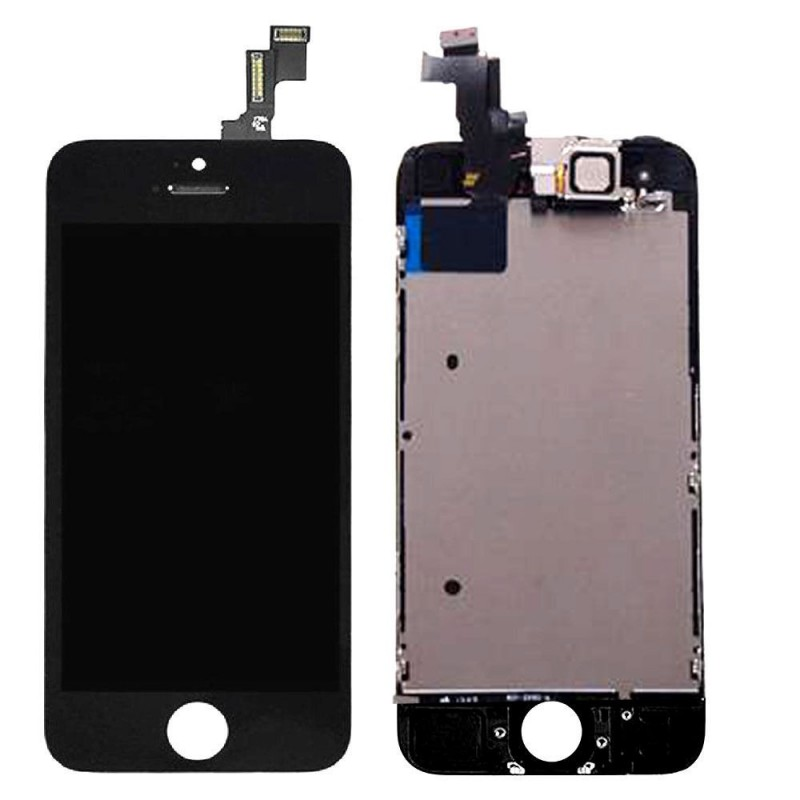 Vitre tactile ecran lcd complet iphone 5 5c 5s se for Ecran photo noir iphone 5