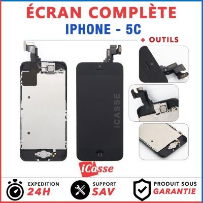 ECRAN COMPLET IPHONE 5C VITRE TACTILE + LCD RETINA COMPLET ASSEMBLÉ