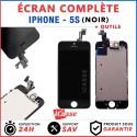 BLOC COMPLET ASSEMBLÉ VITRE TACTILE + ECRAN LCD RETINA IPHONE 5S NOIR