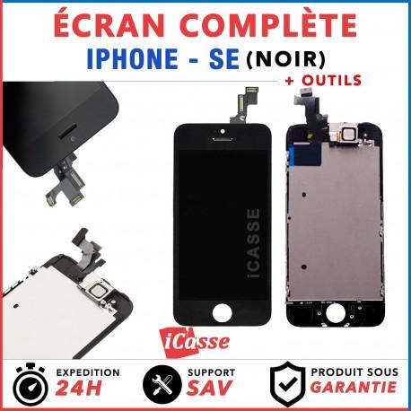 VITRE TACTILE + ECRAN LCD COMPLET IPHONE SE NOIR + OUTILS