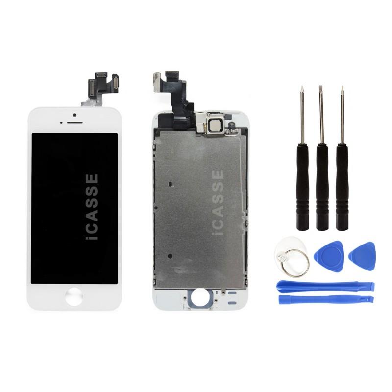 VITRE-TACTILE-ECRAN-LCD-COMPLET-IPHONE-5-5C-5S-5-SE-NOIR-BLANC-OUTILS