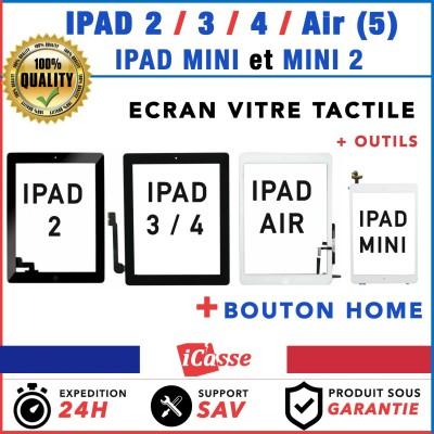 VITRE ECRAN TACTILE POUR IPAD 2 / 3 / 4 / IPAD AIR / IPAD MINI / MINI 2 + OUTILS