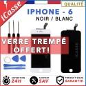 VITRE TACTILE IPHONE 6 NOIR OU BLANC + ECRAN LCD RETINA SUR CHASSIS + Outils