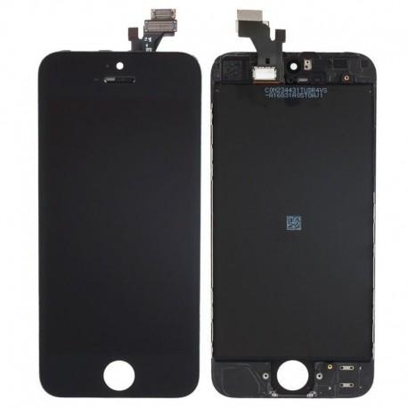 ECRAN IPHONE 5 / 5C / 5S / SE - VITRE TACTILE + LCD RETINA SUR CHASSIS + OUTILS