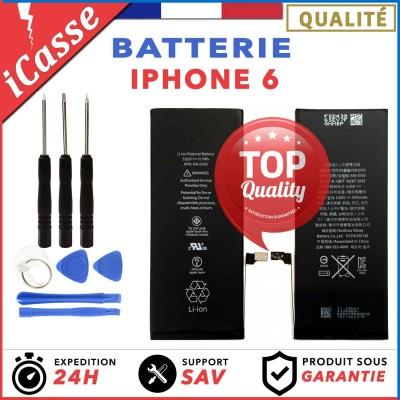 BATTERIE Haute qualite INTERNE POUR IPHONE 6 NEUVE + KIT OUTILS + PENTALOBE