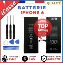 BATTERIE INTERNE POUR IPHONE 6 NEUVE + OUTILS TVA
