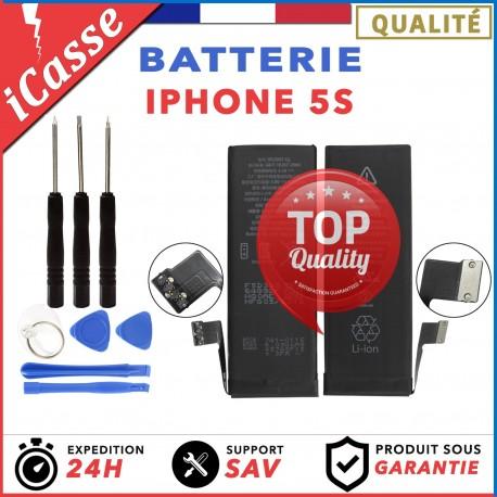 BATTERIE 100% NEUVE POUR IPHONE 5S Haute qualité + OUTILS OFFERT